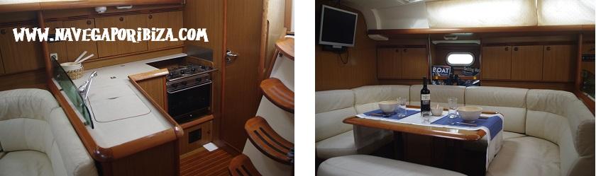 alquilar barco en ibiza jeanneau 40