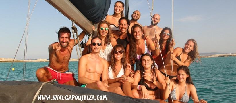 Alquiler barco Ibiza y Formentera