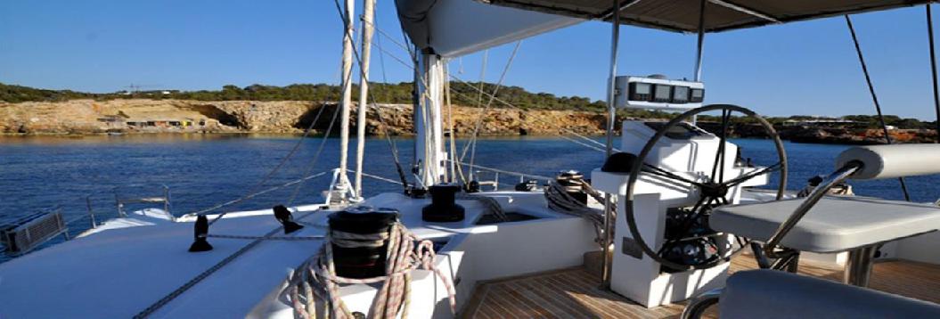 maniobra de vela catamaran