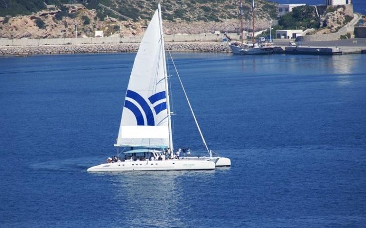 catamaran privado en ibiza
