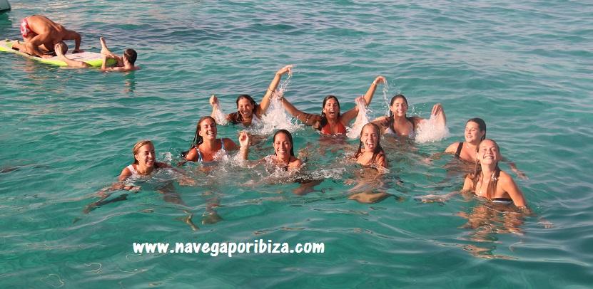playa de illetes en formentera alquiler barco en ibiza