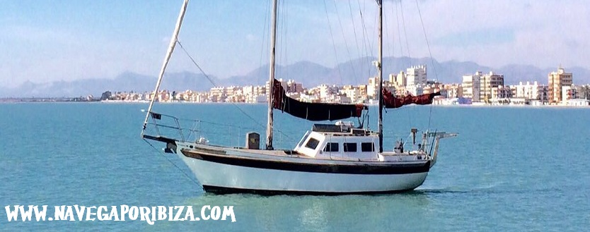 velero clasico para alquilar en ibiza