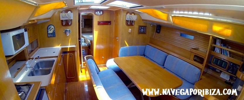 alquilar una semana barco en ibiza