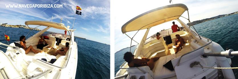 barco para alquilar en ibiza