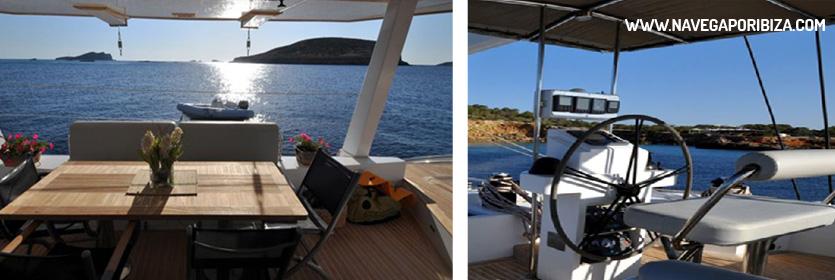 Catamaran en ibiza y Formentera para alquilar
