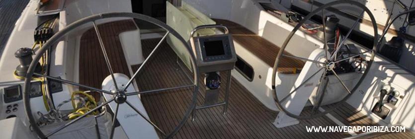 alquilar una semana un barco en ibiza